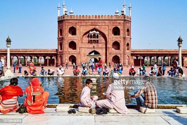 Hauz of Jama Masjid, Delhi
