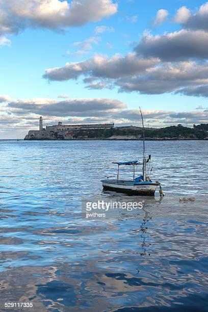 Havan Cuba Malecon El Morro fishing boats
