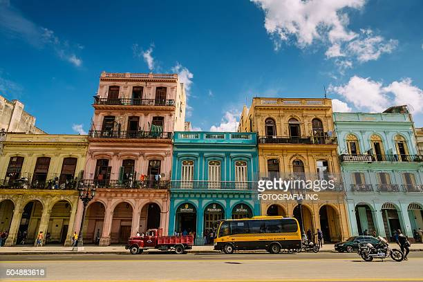 havana architecture - havana stock pictures, royalty-free photos & images