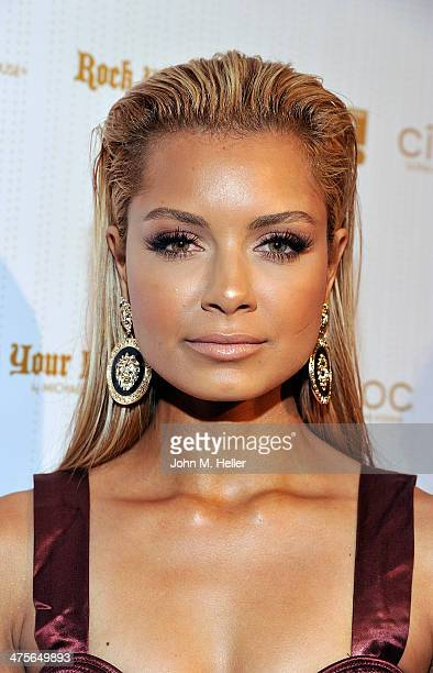 Havana Brown attends OK! Magazine's Pre-Oscar Event at Greystone Manor Supperclub on February 27, 2014 in West Hollywood, California.