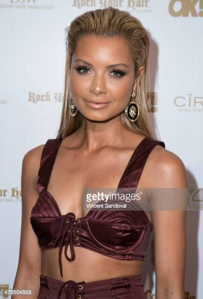 Havana Brown attends OK Magazine's PreOscar event with special guest DJ Havana Brown at Greystone Manor Supperclub on February 27 2014 in West...