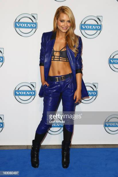 Havana Brown attends the launch of the new Volvo V40 at Australian Technology Park on March 4 2013 in Sydney Australia