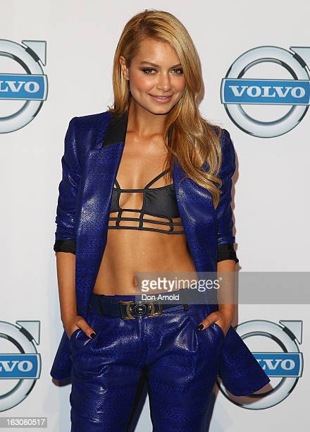 Havana Brown attends the launch of the new Volvo V40 at Australian Technology Park on March 4, 2013 in Sydney, Australia.