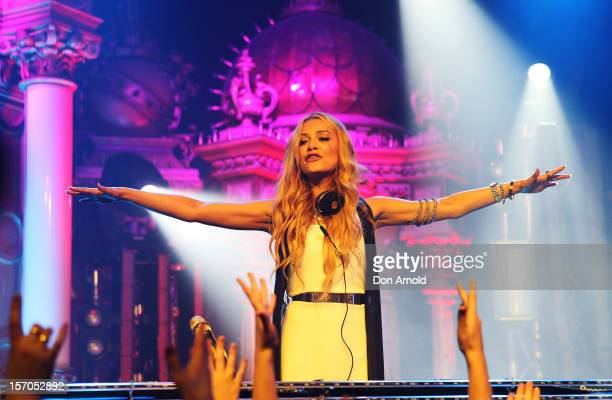 Havana Brown performs live at the MTV Summer Party 2012 on November 28, 2012 in Sydney, Australia.