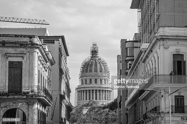 havana capitol building, cuba. - radicella stock photos and pictures