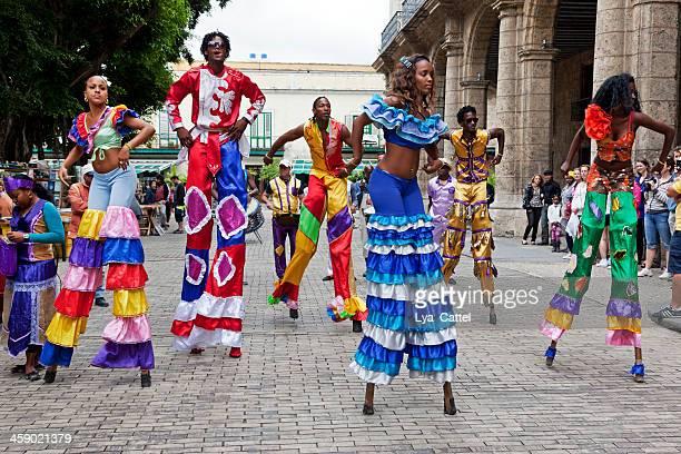 Dançarinos de Carnaval de Havana