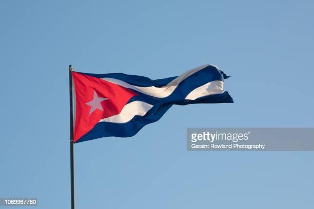 Havana, Cuba Flag Flying