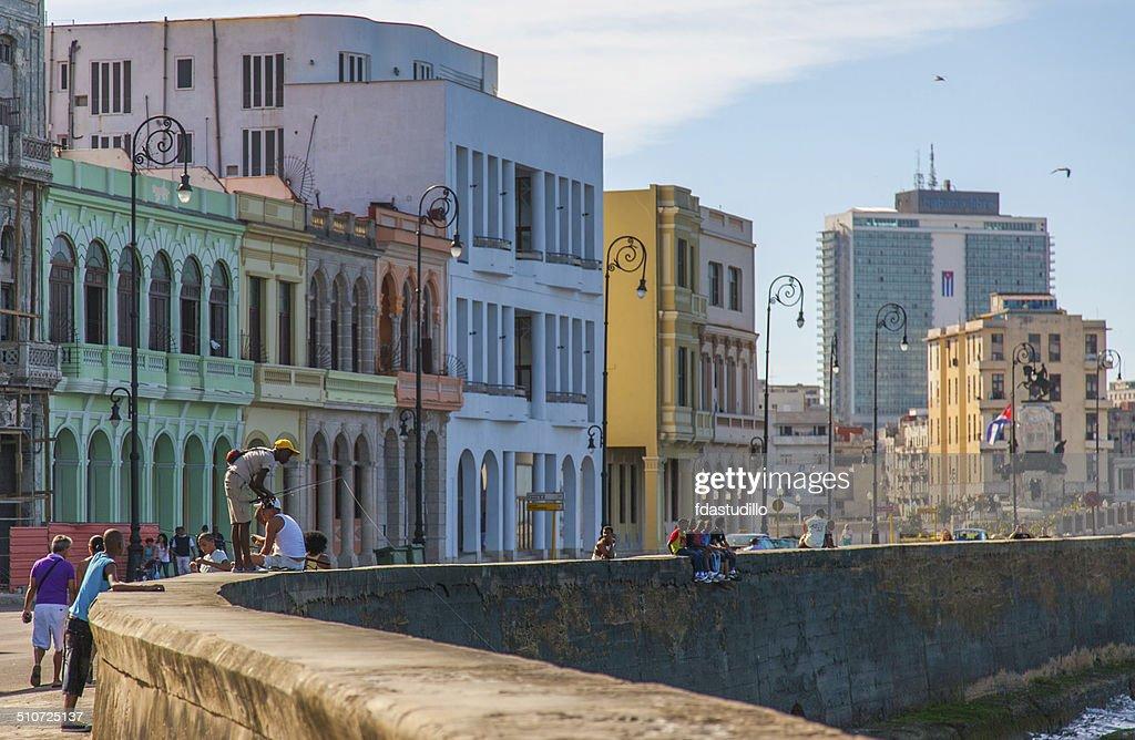 Havana, Cuba - Malecón : Stock Photo