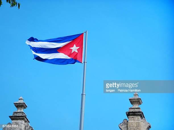 havana cuba  - bandera cubana fotografías e imágenes de stock