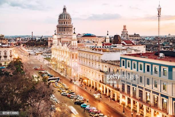 Havanna, Kuba mit Capitol Skyline
