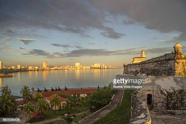 Havana, El Morro fort and city skyline