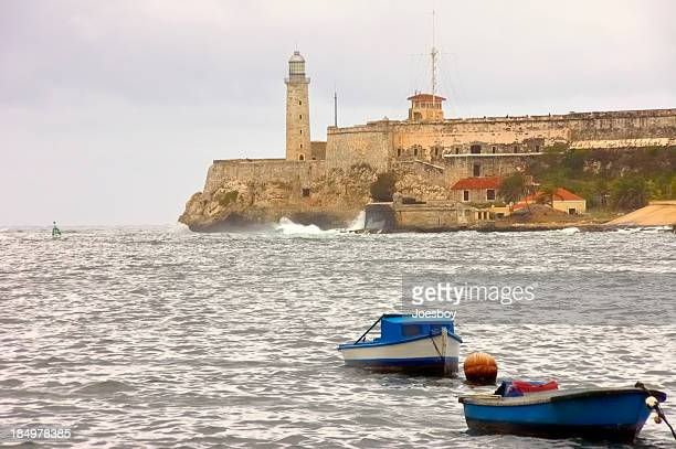 Havana Harbor Entrance And El Morro Castle