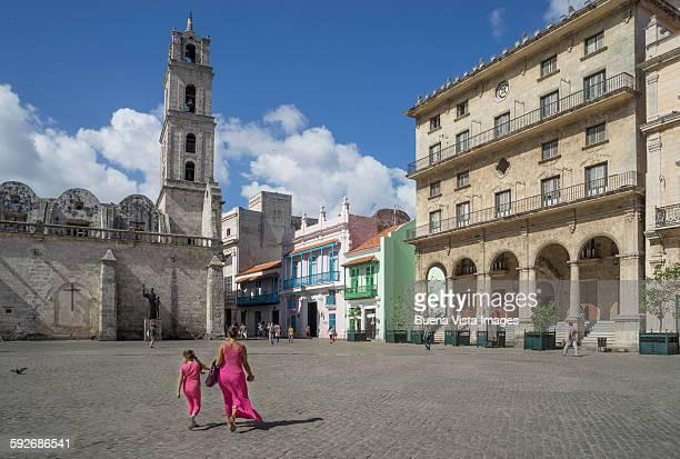 havana. plaza san francisco de assis. - assis ストックフォトと画像