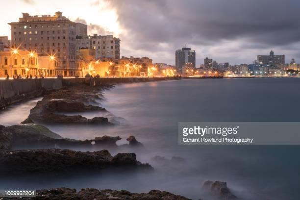 Havana Seafront at Night