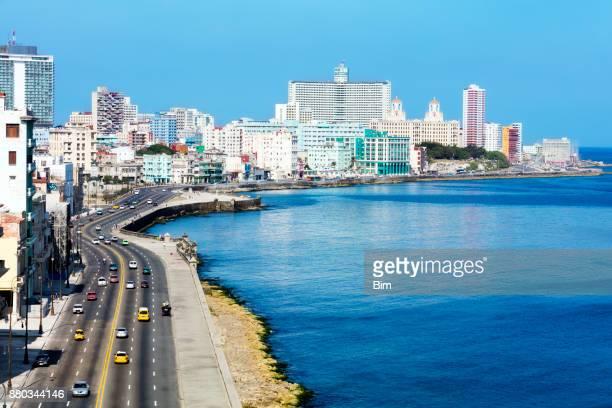 havana skyline, cuba - havana stock pictures, royalty-free photos & images