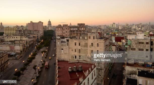CONTENT] Havana skyline on a clear January day