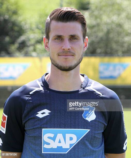 Havard Nordtveit from German first division Bundesliga football team TSG 1899 Hoffenheim poses for a photo in Zuzenhausen near Heidelberg Germany on...