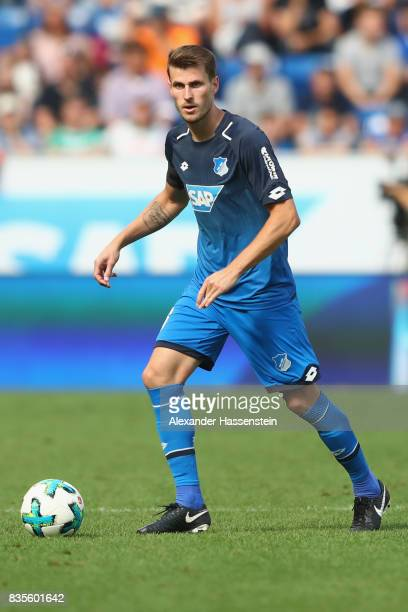 Havard Nordtveit of Hoffenheim runs with the ball during the Bundesliga match between TSG 1899 Hoffenheim and SV Werder Bremen at Wirsol...