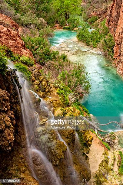 havasu creek grand canyon - havasu creek stock photos and pictures