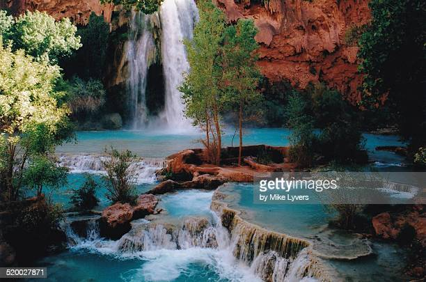 Havasu Falls and travertine pools