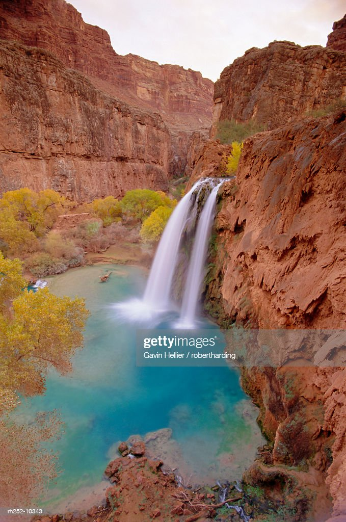Havasu Falls, Arizona, USA, North America : Foto de stock