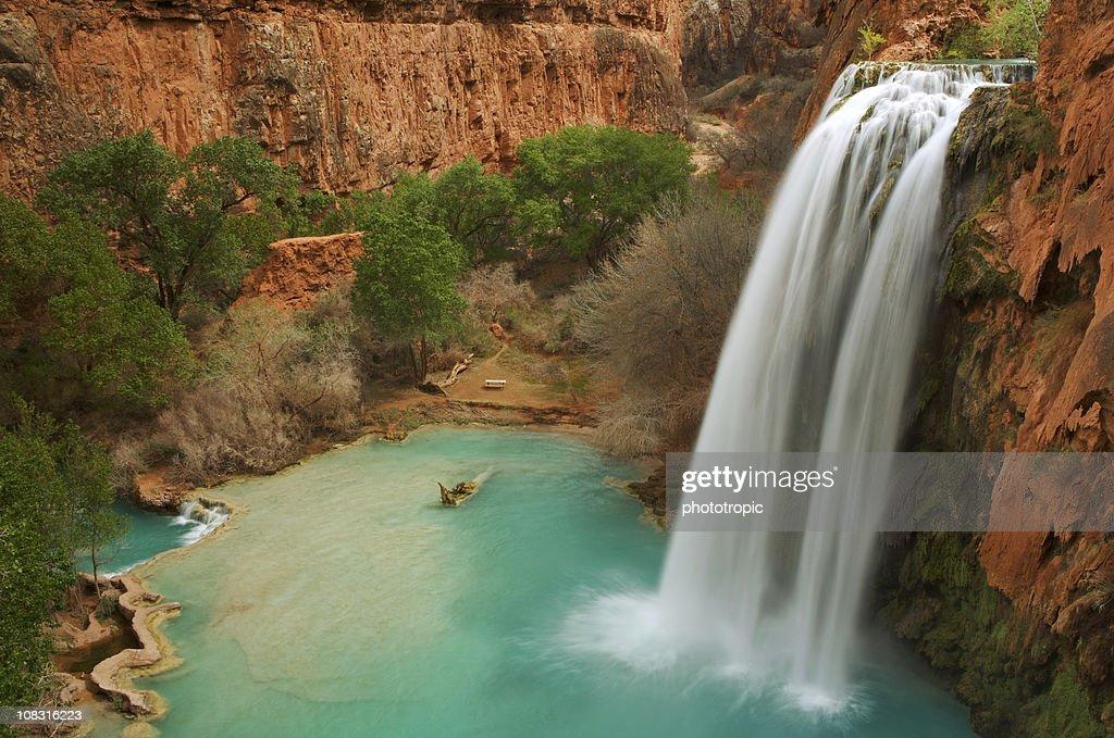 Havasu Falls in Arizona : Stock Photo