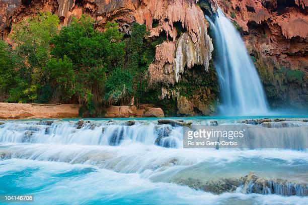 havasu falls - public domain imagens e fotografias de stock