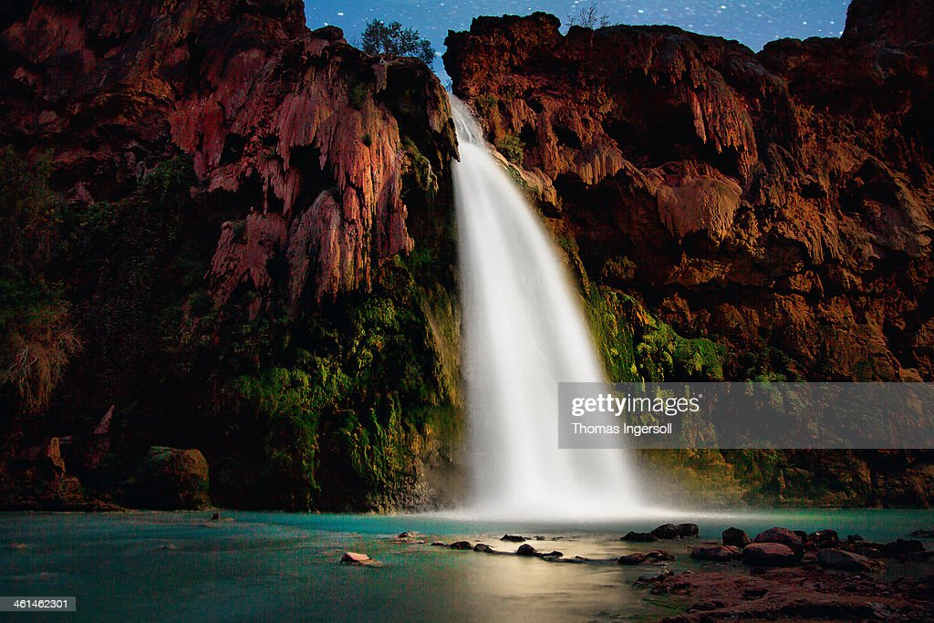 havasupai falls : Stock Photo