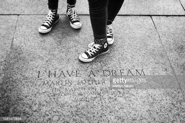 i have a dream in washington dc - martin luther king jr. memorial washington dc stock pictures, royalty-free photos & images