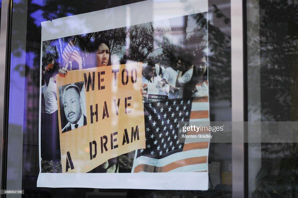 I Have a Dream, reflexion : Stock Photo