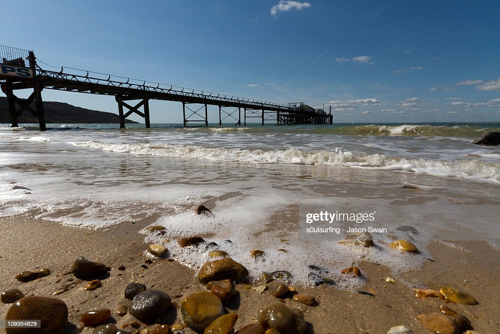 PS. Have a nice day at the seaside : Stock Photo