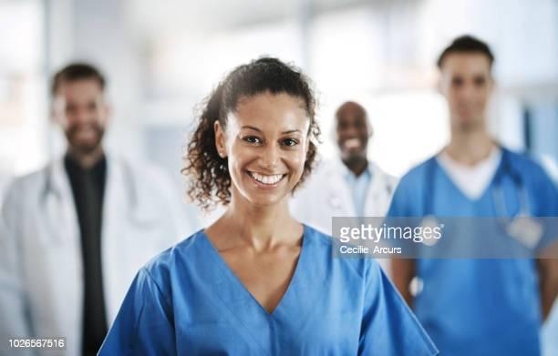 j'ai une passion pour la guérison - infirmière photos et images de collection