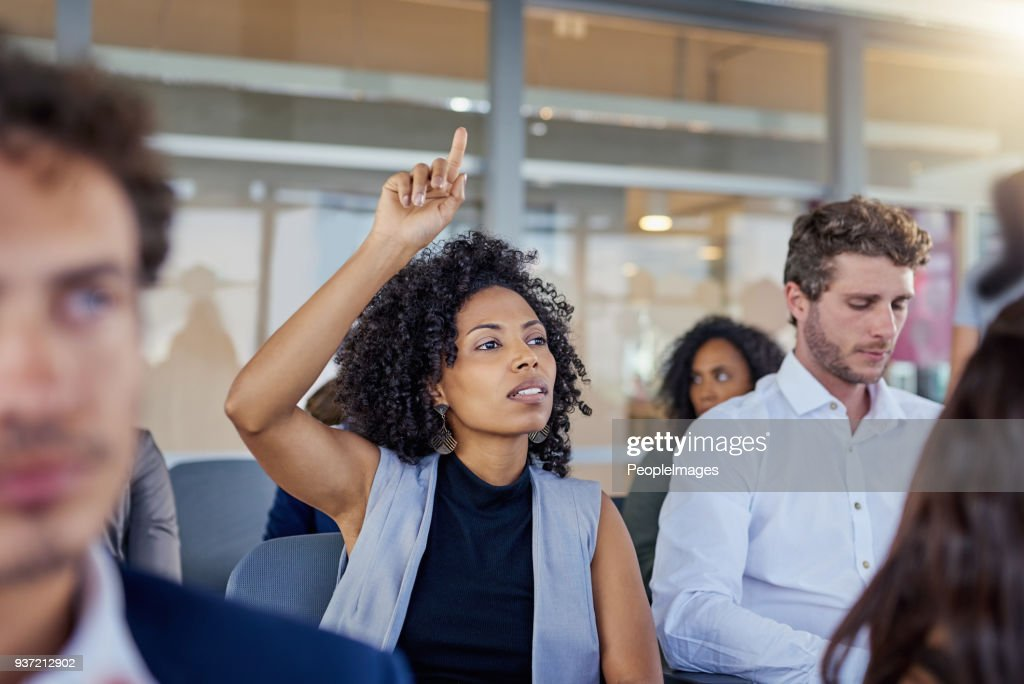 I have a question before we continue... : Stock Photo