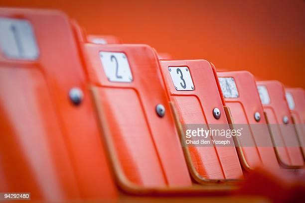 have a seat - empty bleachers stock photos and pictures