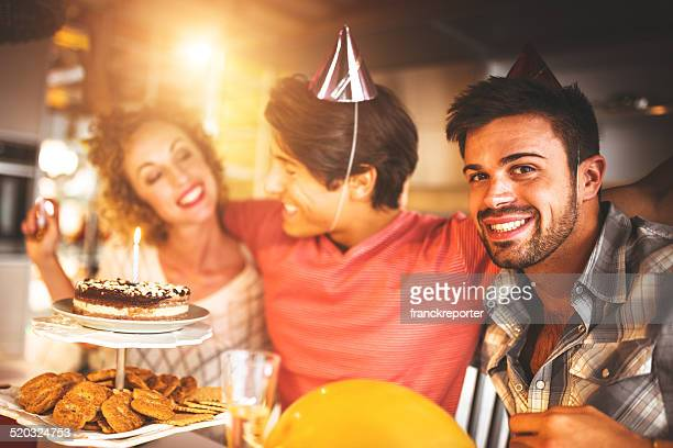 have fun at party for the birthday guy