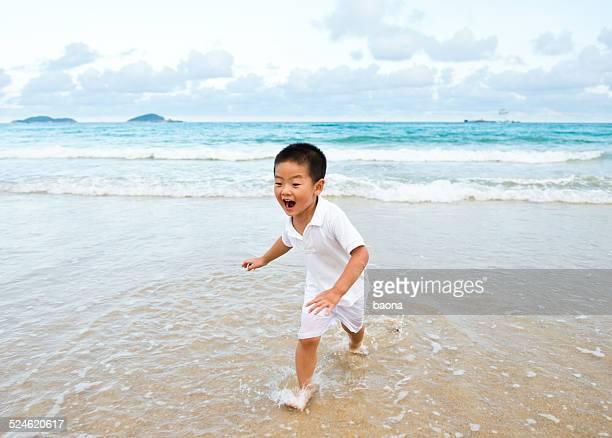 have fun on the beach