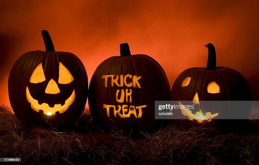 Have Fun Trick Or Treating : Stock Photo