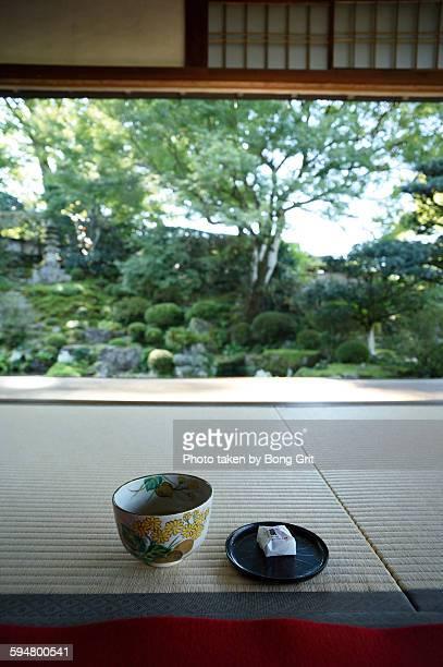 I have powdered green tea.