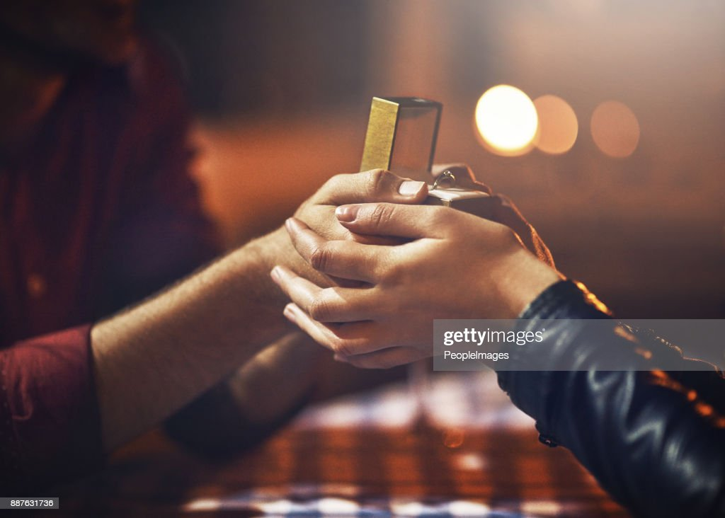 I have something for you... : Stock Photo