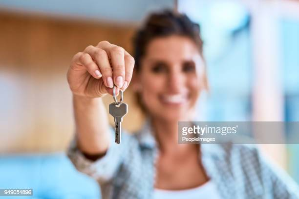 i have the keys to the castle - house key stock photos and pictures