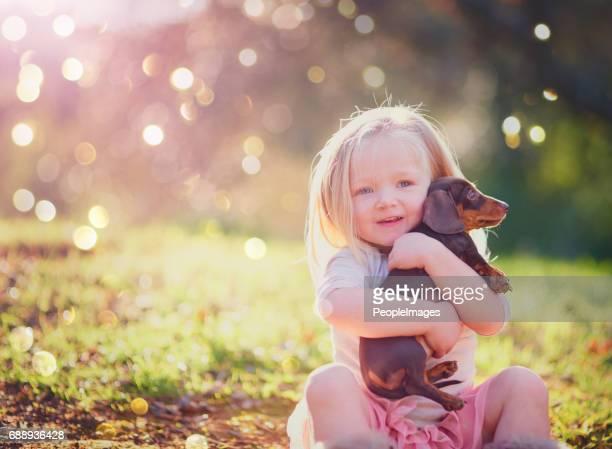 Heb je ontmoet mijn schattige kleine pup?