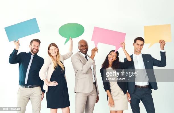 have your say! - blank sign stock photos and pictures