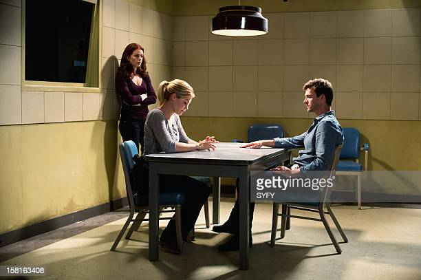 Haven 'Last Goodbyes' Episode 311 Pictured Bree Williamson as Claire Callahan Emily Rose as Audrey Parker Lucas Bryant as Nathan Wuornos