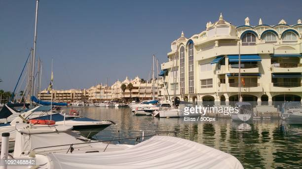 haven torremolinos spanien - spanien stock pictures, royalty-free photos & images