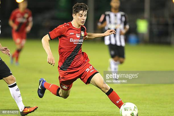 Havertz of Bayer Leverkusen runs with the ball against Clube Atletico Mineiro at ESPN Wide World of Sports Complex on January 11 2017 in Kissimmee...