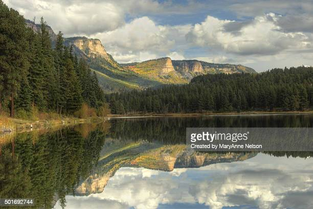 Haviland Lake and Cliff Reflections