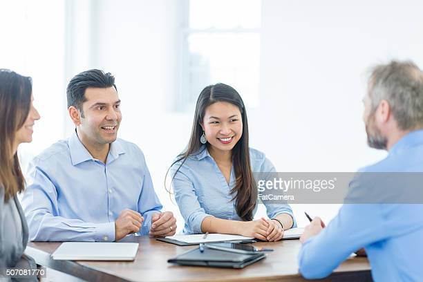 Having a Business Discussion