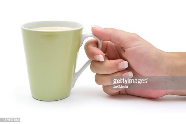 コーヒーを飲み
