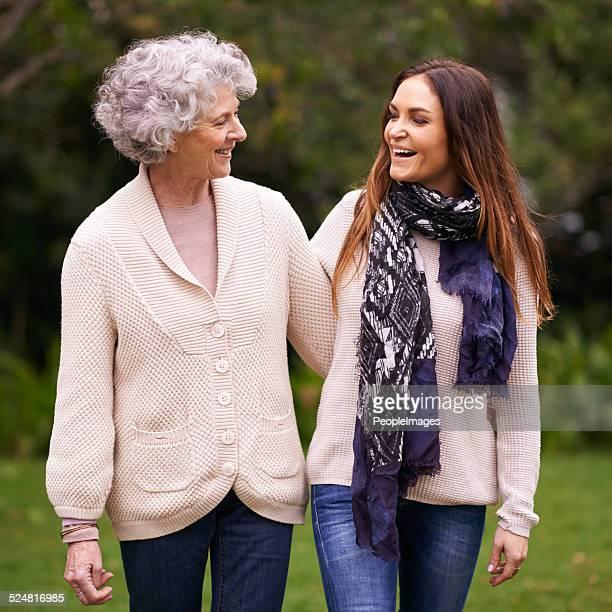 Avoir un bon moment avec sa maman