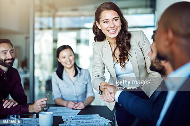 having a positive attitude is rewarding - business meeting stock pictures, royalty-free photos & images